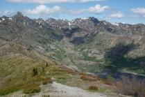 North of Spirit Lake towards Mt. Margaret